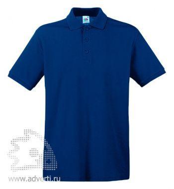 Рубашка поло «Premium Polo», мужская, темно-синяя