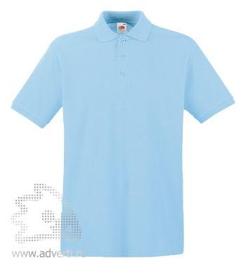 Рубашка поло «Premium Polo», мужская, голубая