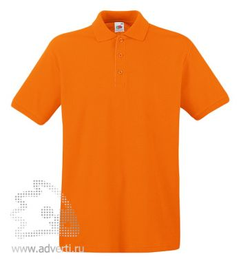 Рубашка поло «Premium Polo», мужская, оранжевая