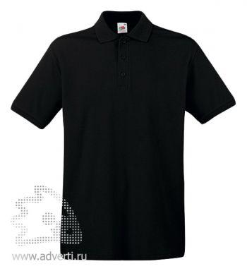 Рубашка поло «Premium Polo», мужская, черная