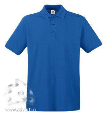 Рубашка поло «Premium Polo», мужская, синяя