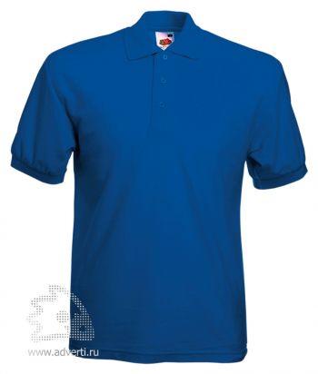 Рубашка поло «65/35 Pique Polo», мужская, синяя