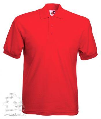 Рубашка поло «65/35 Pique Polo», мужская, красная