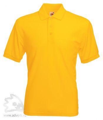 Рубашка поло «65/35 Pique Polo», мужская, желтая