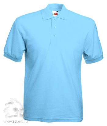 Рубашка поло «65/35 Pique Polo», мужская, голубая