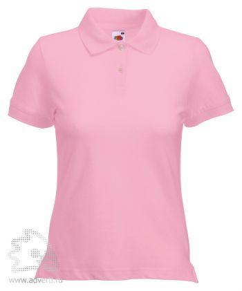 Рубашка поло «Lady-Fit Polo», женская, розовая
