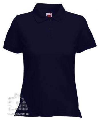 Рубашка поло «Lady-Fit Polo», женская, темно-синяя