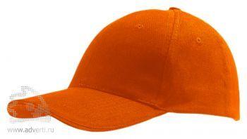 Бейсболка «Buffalo», оранжевая