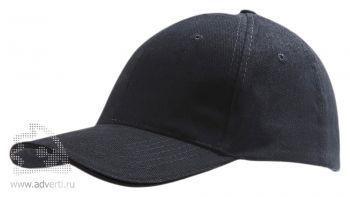 Бейсболка «Buffalo», черная