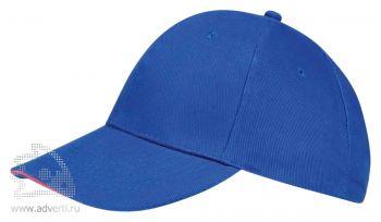 Бейсболка «Buffalo 2», двухцветная, голубая с розовым