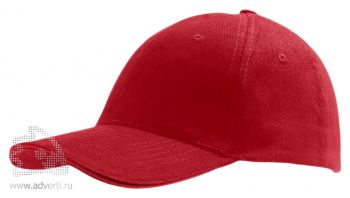 Бейсболка «Buffalo», красная