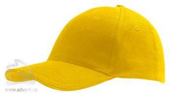 Бейсболка «Buffalo», желтая