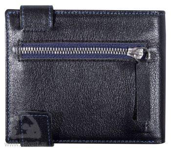 Кошелек «Rich», дизайн внешнего кармана для мелочи