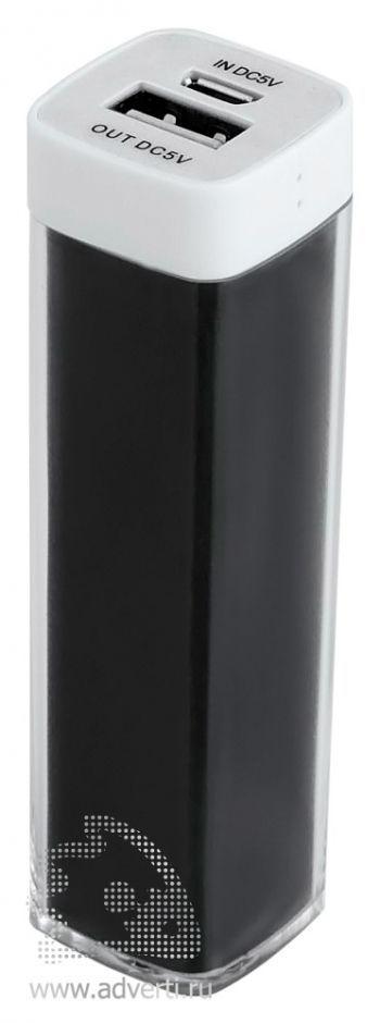 Универсальный аккумулятор «Bar» 2200 mAh, ver.2, черный