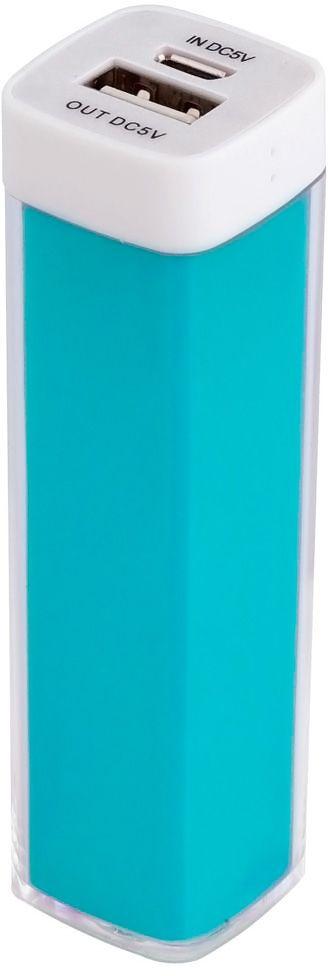 Универсальный аккумулятор «Bar» 2200 mAh, ver.2, бирюзовый