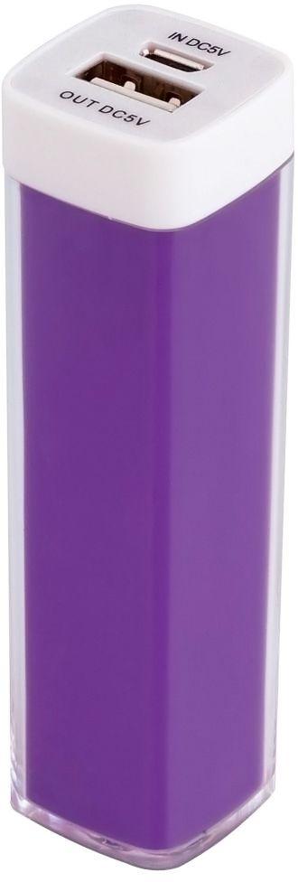 Универсальный аккумулятор «Bar» 2200 mAh, ver.2, фиолетовый