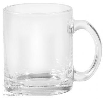Кружка Promo glass, прозрачная