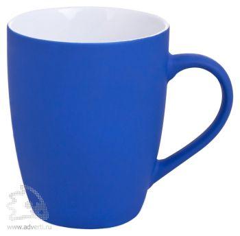 Кружка «Good morning» c прорезиненным покрытием, синяя