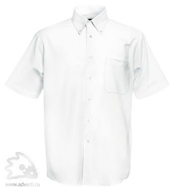 Рубашка «Men Oxford Short Sleeve Shirt», мужская, белая