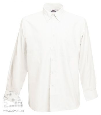 Рубашка с длинным рукавом  «Men Oxford Long Sleeve Shirt», мужская, белая
