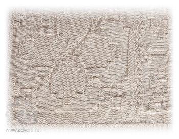Плед «Рустик», дизайн вязки