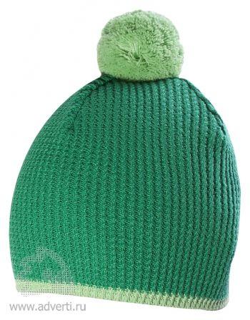 Шапка «Hit», зеленая
