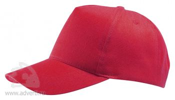 Бейсболка «BUZZ», красная