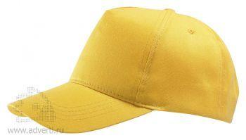 Бейсболка «Buzz», желтая