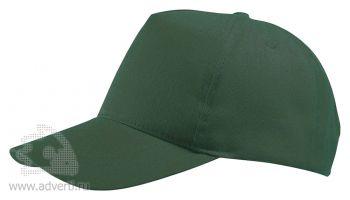 Бейсболка «Buzz», темно-зеленая