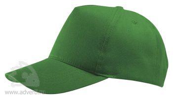 Бейсболка «Buzz», зеленая