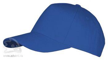 Бейсболка «Long beach», синяя