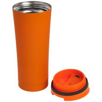 Термостакан «Smoothy», оранжевый, в открытом виде