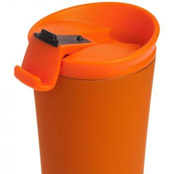 Термостакан «Smoothy», оранжевый, крышка