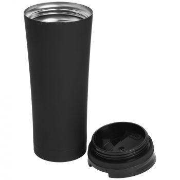Термостакан «Smoothy», чёрный, в открытом виде