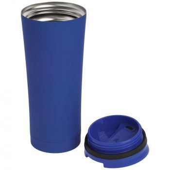 Термостакан «Smoothy», синий, в открытом виде