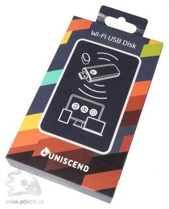 Wi-Fi флешка «Uniscend Cloud» в упаковке