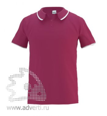 Рубашка поло «Stan Trophy», мужская, бордовая