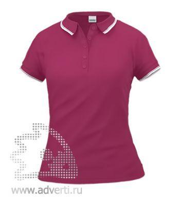 Рубашка поло «Stan Trophy W», женская, бордовая