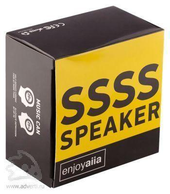 Беспроводная Bluetooth-колонка «SSSSSpeaker», упаковка