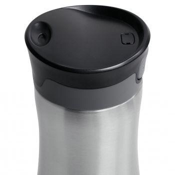 Термостакан «Tansley», серебристый, крышка