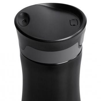 Термостакан «Tansley», чёрный, крышка