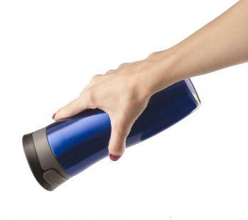Термостакан «Tansley», синий, герметичный и вакуумный