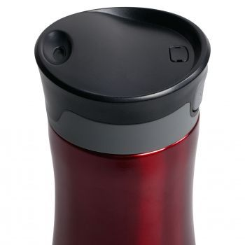 Термостакан «Tansley», красный, крышка