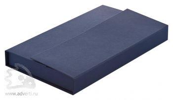 Коробка подарочная под набор, синяя