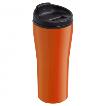 термостакан, оранжевый