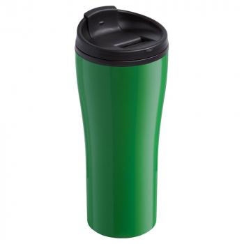 термостакан, зеленый