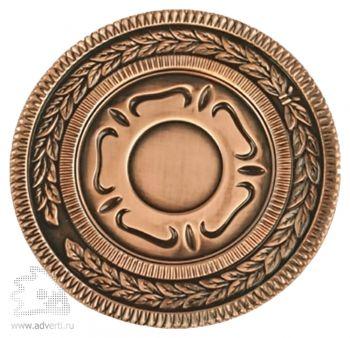Медаль наградная, бронза