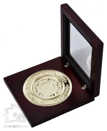 Медаль наградная, золото, общий вид