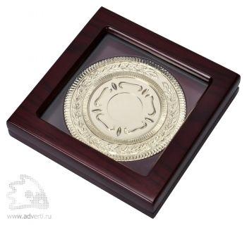 Медаль наградная, золото, в коробке