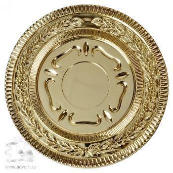 Медаль наградная, золото